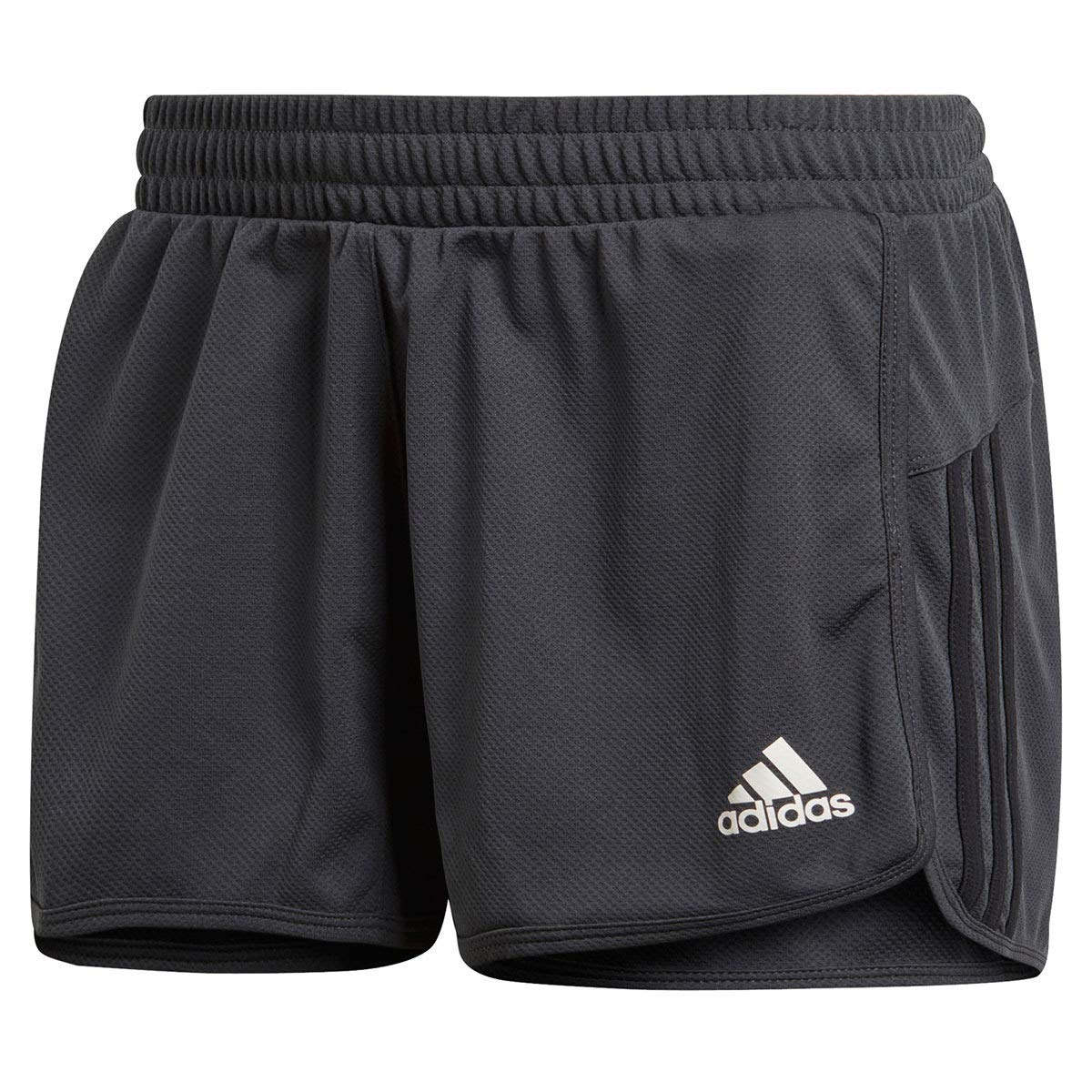 adidas Women's Designed 2 Move Knit Shorts, Carbon/Black, Small by adidas