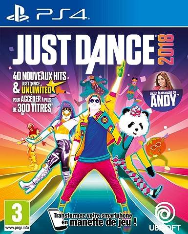 Just Dance 2018 - PlayStation 4 [Importación francesa]: Amazon.es: Videojuegos