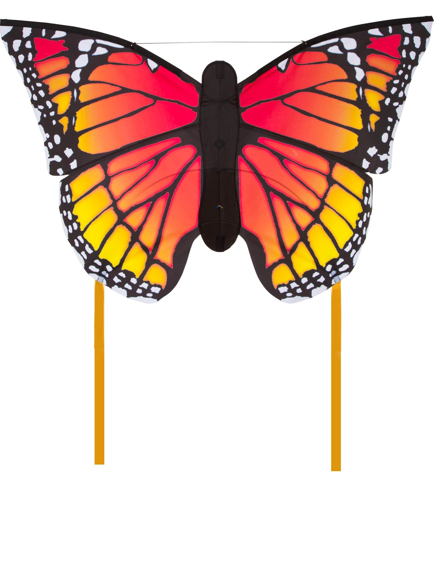 HQ Kites Monarch L Butterfly Kite   50 Inch Single - Line Kite with Tail - Active Outdoor Fun for Ages 5 and Up