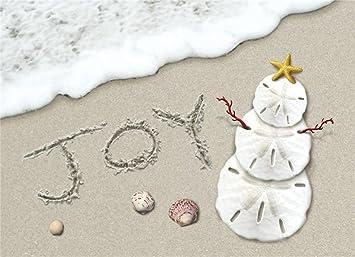 18 christmas cards and envelopes joy surf sand dollar snowman on the beach