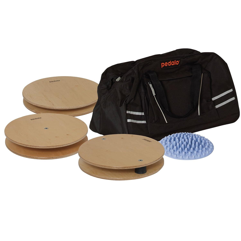 Pedalo Fitness-Set I Gleichgewichtstrainer I Balance Board I Kreisel I Koordination I Twister I Fußsohlenmassage