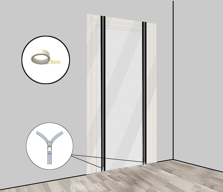 Transparent Porte anti-poussi/ère en poly/éthyl/ène