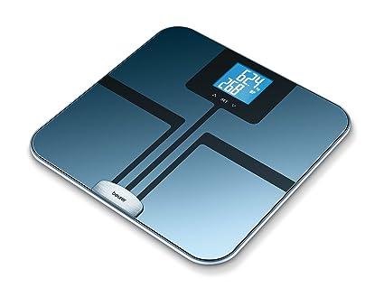 Beurer BF750 - Báscula de baño (LCD, Azul, 33 cm, 32 cm