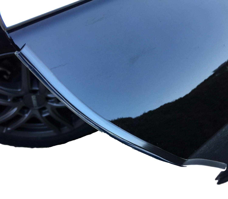 Protection de porte de 220 cm profil/protection de seuil de porte – Barre de protection pour voiture – pour portes de voiture – Vernis & protection pour Dell – Transparent & autocollant WeberAutozubehör