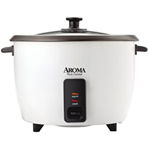 Aroma Housewares 32-Cup (Cooked)(16-Cup UNCOOKED) Pot Style Rice Cooker (ARC-7216NG)