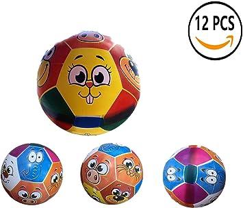 12 Pcs Juguete De Pelota De Playa De Balon 22CM (Animal ...
