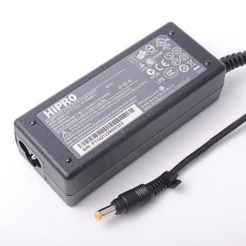 Hipro ordenador portátil de alimentación de CA Adaptador de cargador para HP Compaq Presario C300 C500 C700 65W: Amazon.es: Electrónica