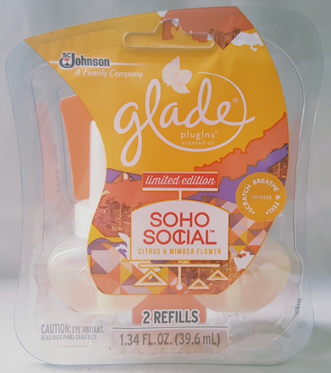 24 Glade SOHO Social PLUGINS Scented Oil Refills Limited Citrus & Mimosa 12 Pack by Glade (Image #2)