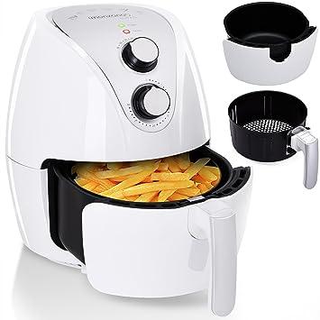 Friteuse électrique cuve amovible sans huile a air chaud livret de recettes  incl. 1500W 3 7151251f174e