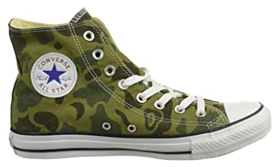 7395e9a64012de Image Unavailable. Image not available for. Color  Converse Ct Hi Mens  Fashion Sneakers Olive Branch ...