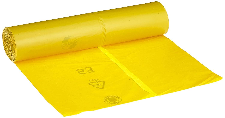 Mü llsä cke DEISS PREMIUM gelb Typ 60, 120 Liter EMIL DEISS KG 13023