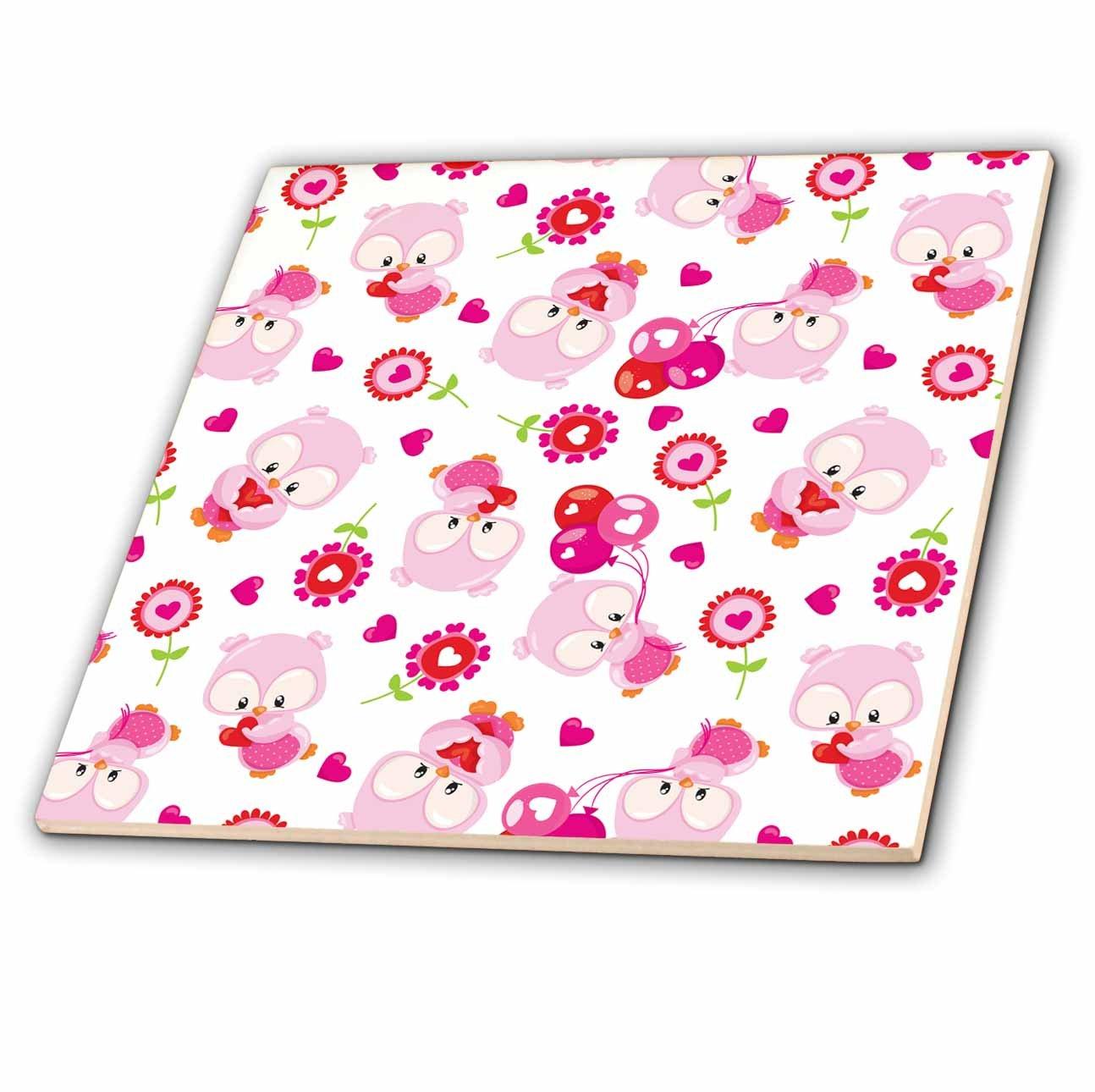 2854261106927 Amazon.com: 3dRose Anne Marie Baugh - Patterns - Cute Light Pink ...