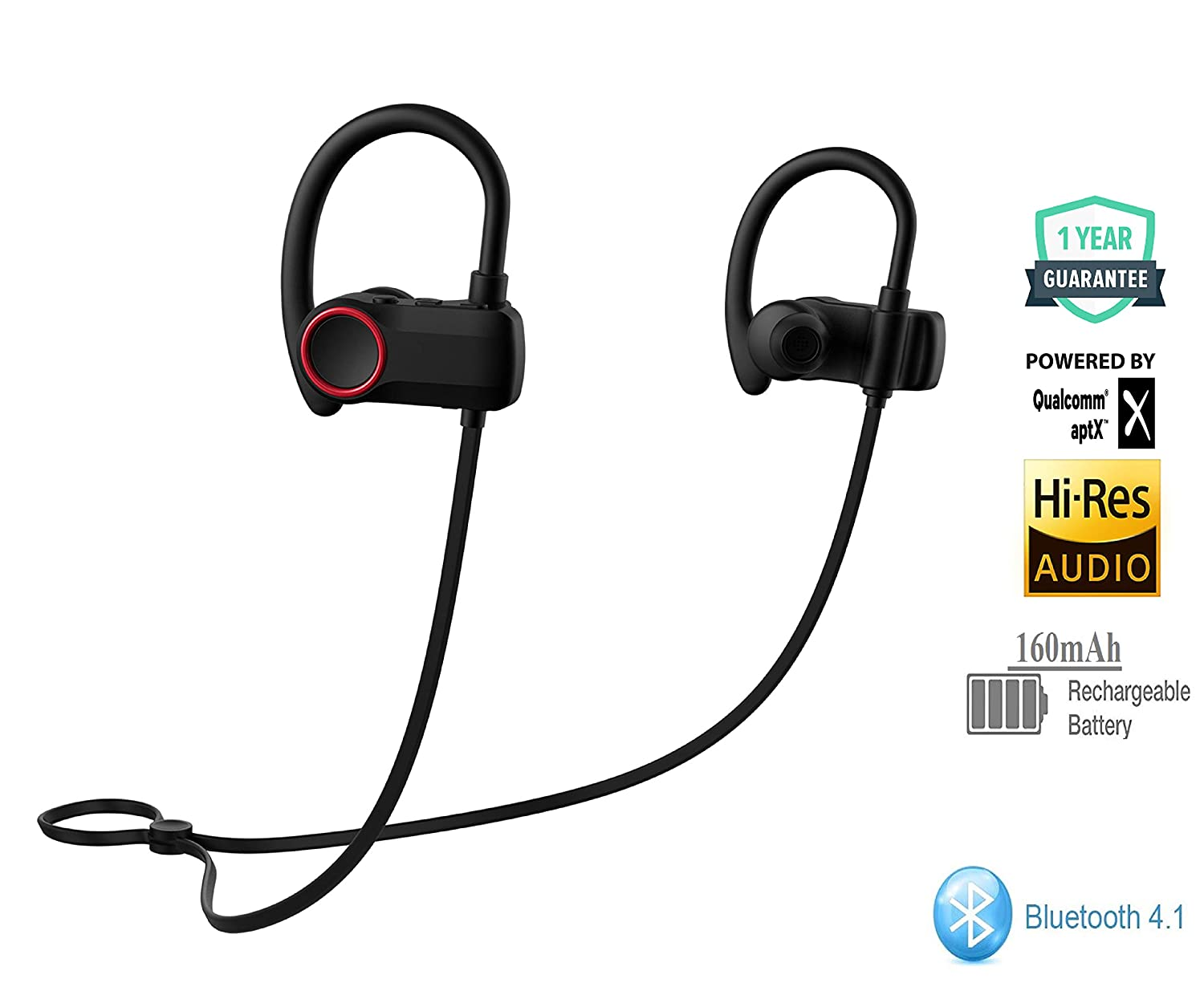 Wearfit Stroke Charge Plus Bluetooth 4.1 in Ear Wireless