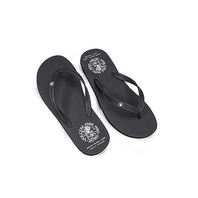 69b79d4be Amazon.com  Volcom Men s Rocker 2 Graphic Print Flip Flop Sandal  Shoes