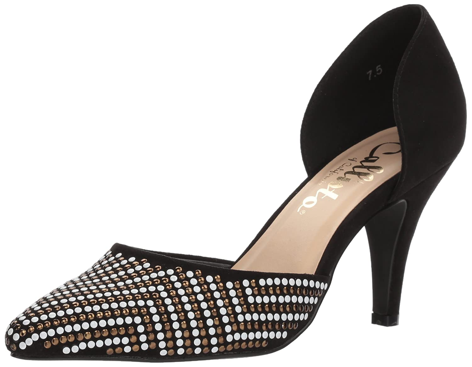 Callisto Women's Mimosa Pump B075VJJH2T 5.5 B(M) US|Black Sd