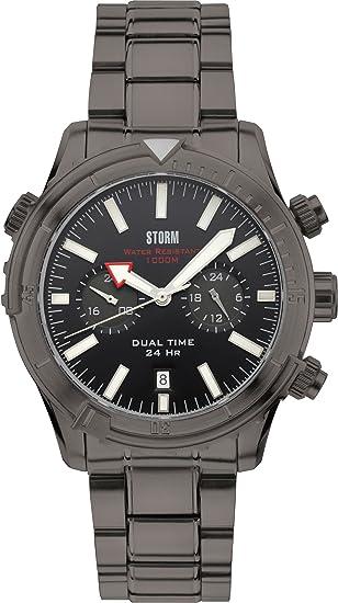 Storm London AQUA PRO 47281/TN Reloj de Pulsera para hombres Pantalla Dual: Amazon.es: Relojes