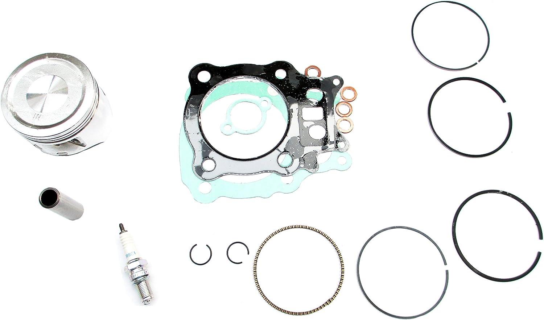 New Piston Rings Gasket Kit Set Spark Plug Fit For Honda Rancher TRX350 TRX 350 2000-2006