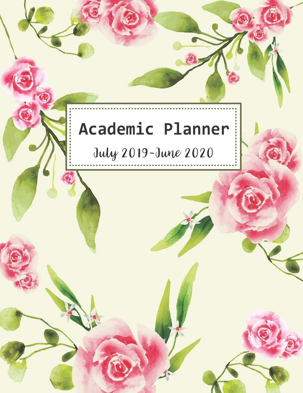 Amazon Fr July 2019 June 2020 Academic Planner Watercolor
