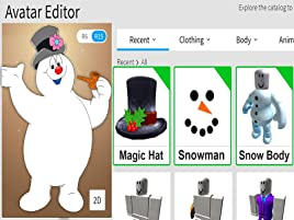 Snow Kid Roblox Watch Clip Roblox Game Time Prime Video
