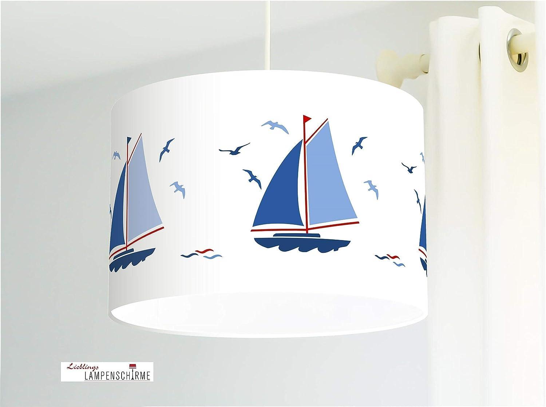 Lampenschirm Segelboote