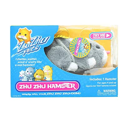 Zhu Zhu Pets Hamster Num Nums: Toys & Games