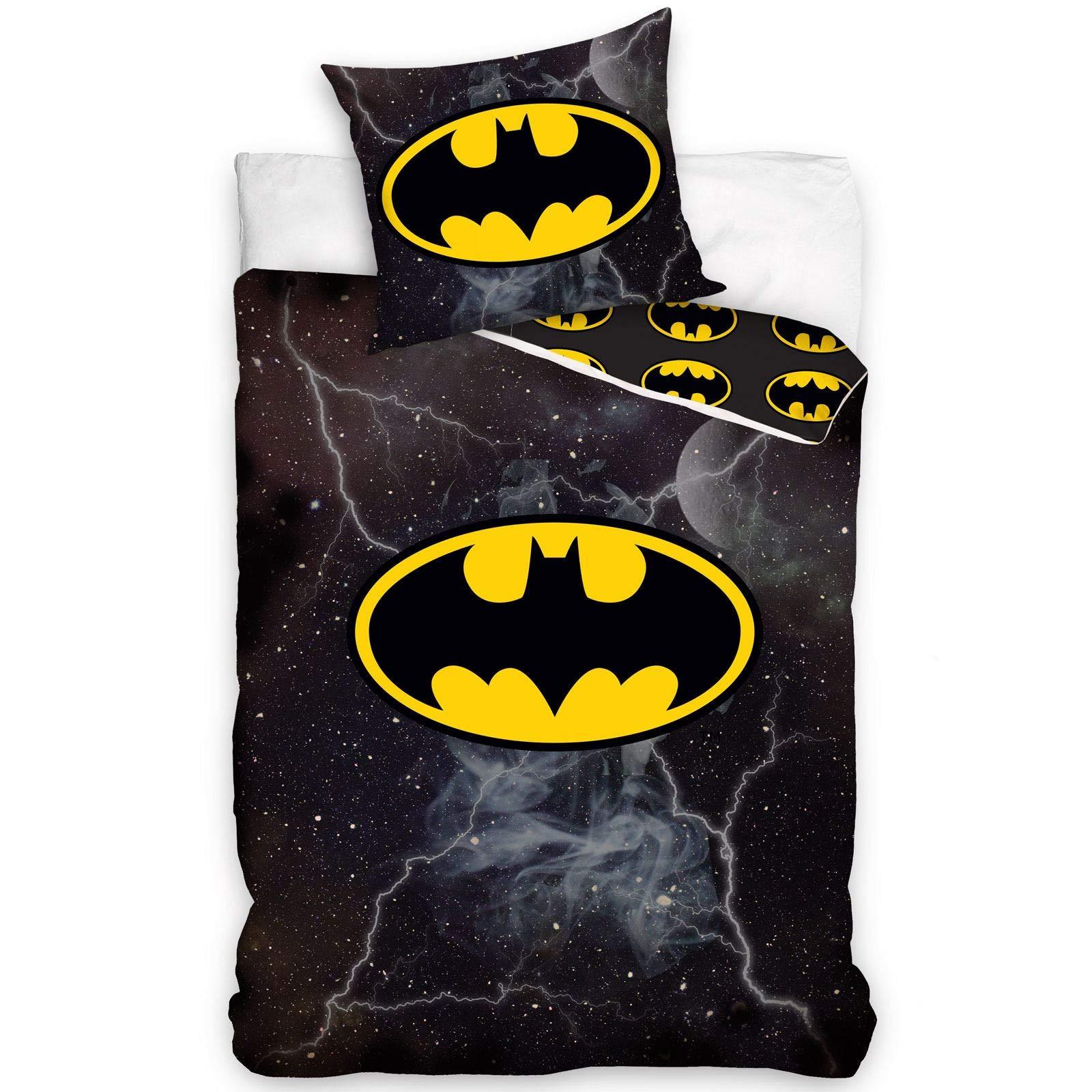 Batman Knight Hero Pillowcase Kids Pillowcase Reversible Design