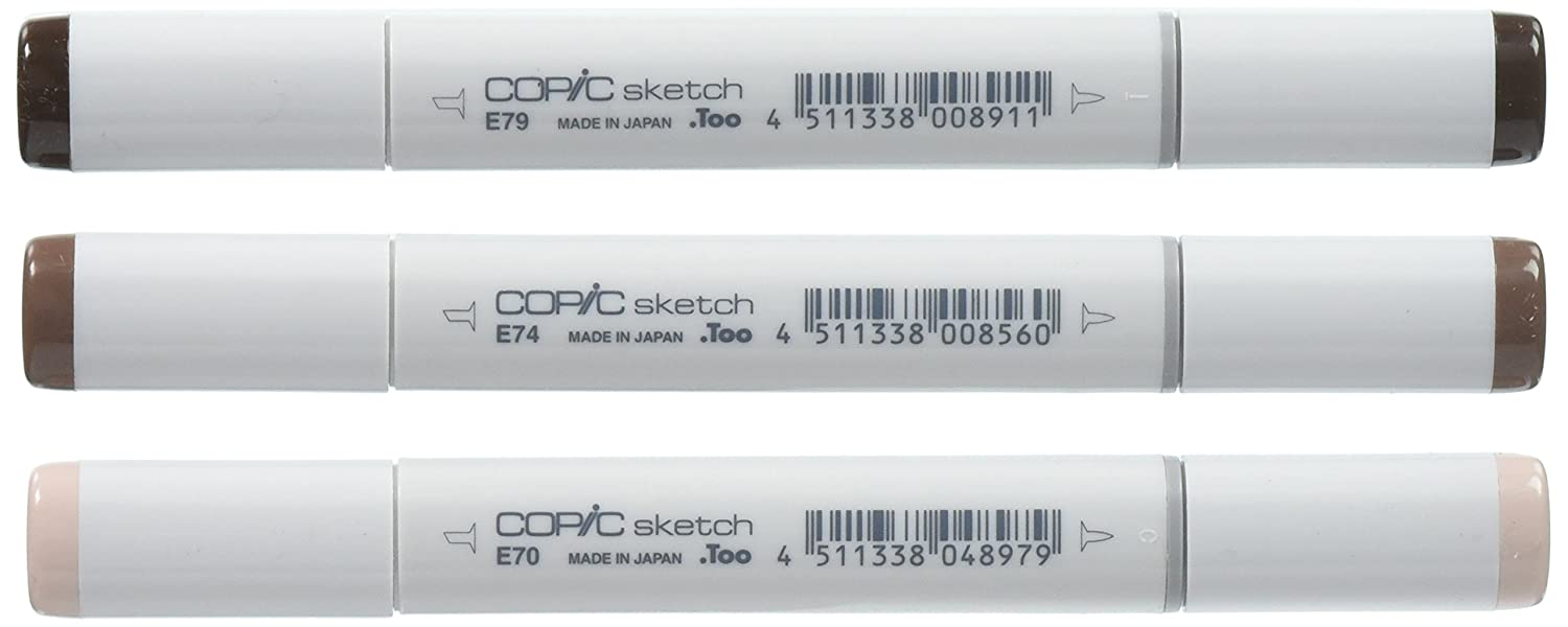 Copic Marker Sketch Blending Trio Markers 3-Pack SBT 6
