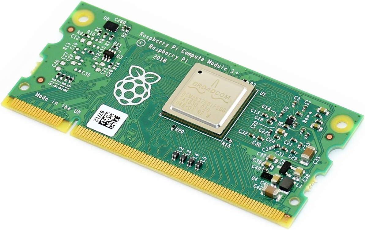 in a Flexible Form Factor with 32GB eMMC Flash Standard DDR2 SODIMM Connector Waveshare Compute Module 3+//32GB Raspberry Pi 3 Model B