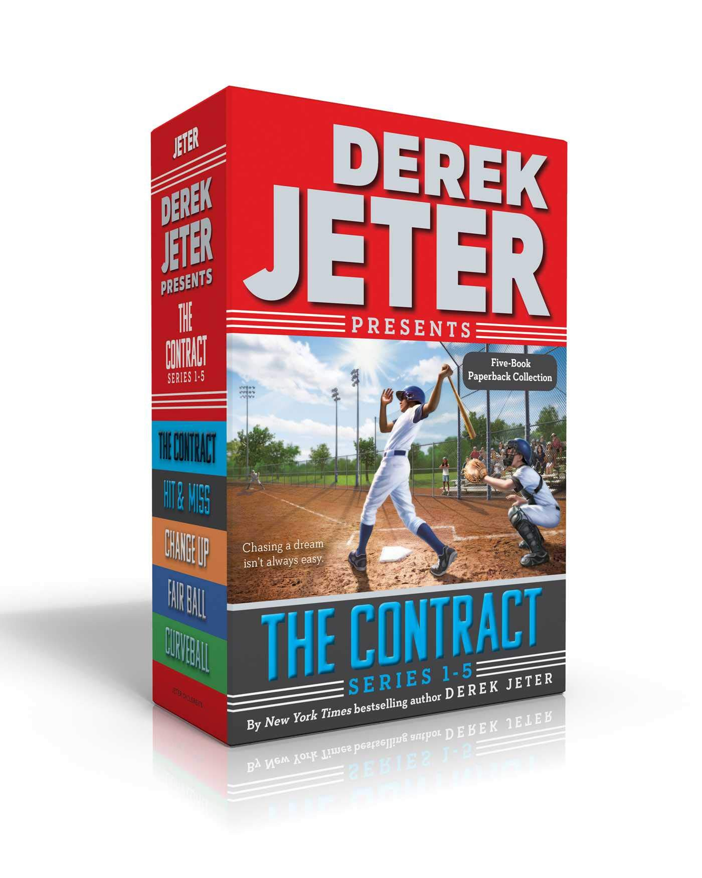 The Contract Series Books 1-5: The Contract; Hit & Miss; Change Up; Fair Ball; Curveball (Jeter Publishing) by Simon & Schuster/Paula Wiseman Books