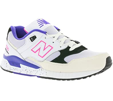 New Balance M530-KIE-D Sneaker, weiß, weiß / lila