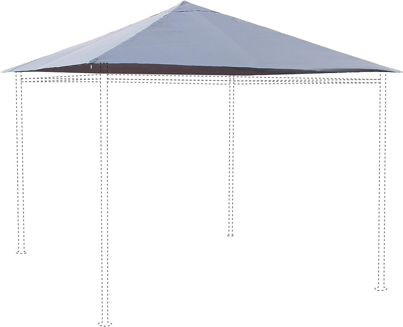 Alice s Garden – lienzo de techo gris para carpa 3 x 3 m Tolosa ...
