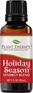 Plant Therapy Holiday Season Synergy Essential Oil 30 mL (1 oz) 100% Pure, Undiluted, Therapeutic Grade