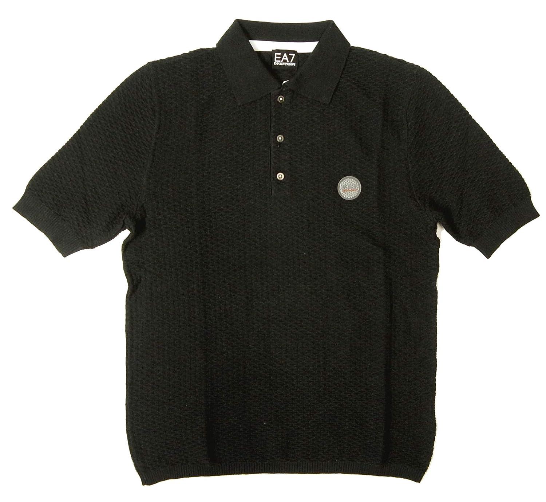 [アルマーニ] ポロシャツ ゴルフ メンズ ブラック エンポリオアルマーニ EA7 A-1139 [並行輸入品] S  B07CLSGTJ2