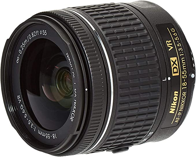 Nikon AF-P DX NIKKOR 18-55mm f/3.5-5.6G VR SLR Negro: Amazon.es ...