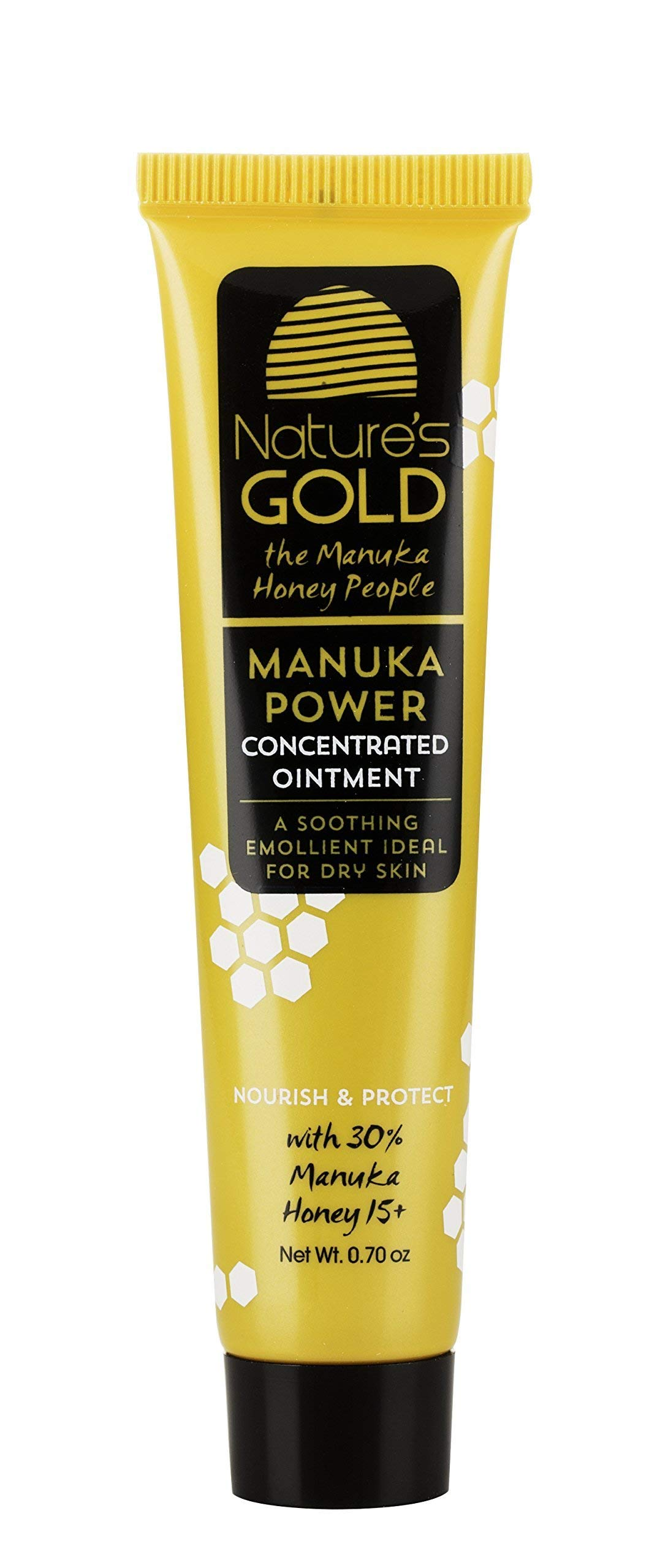 Manuka Honey Active MGO 514+ Healing Concentrated Ointment - Manuka Honey for Skin and Wound Care - Face and Body - Dry Irritated Skin - by Nature's Gold by Nature's Gold