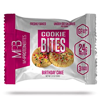 My Protein Bites | Protein Cookies | 24 Grams of Protein, Low Carbs & Low
