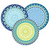Eureka Educational Blue Harmony Assorted Round (841355)
