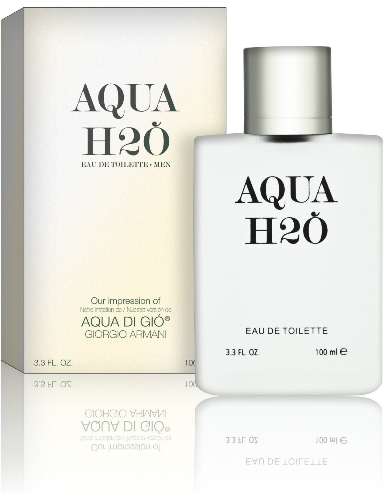 Recaro North - Aqua H2O - Eau De Toilette - Impression of Aqua Di Gio,