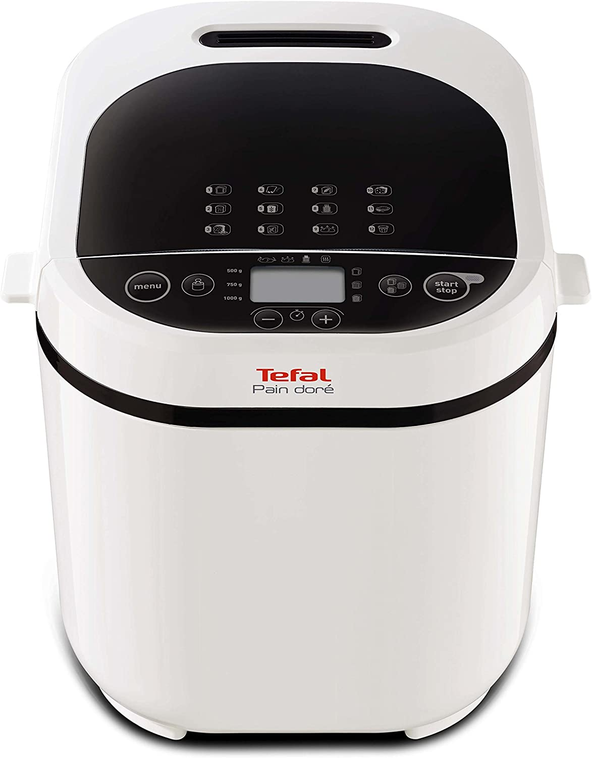 Tefal Pain Doré PF2101 720W Color blanco - Panificadora (Color ...