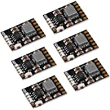 MakerFocus 6pcs 2A 5V Charge Discharge Integrated Module 3.7V 4.2V for 186 50 Lithium Battery Charging Boost Mobile Power Pro