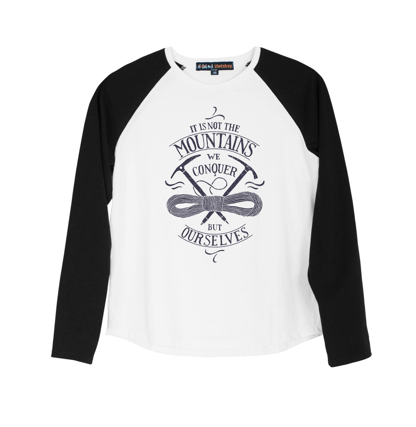 Travel Tool Printed 100% Cotton Long Sleeves Kid Raglan T-Shirt UTS_01 XL