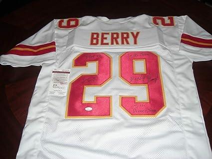 wholesale dealer 06d91 5fd0f Eric Berry Kansas City Chiefs Dpoy-08 Berry Strong White ...