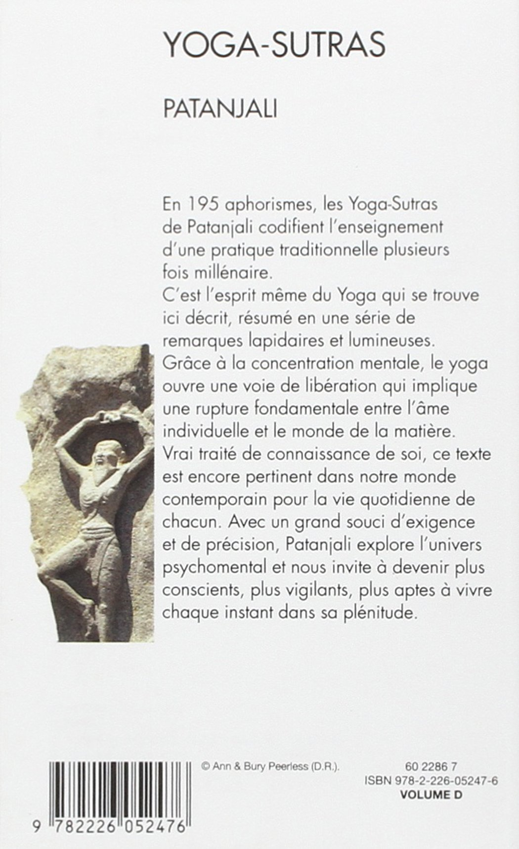 Yoga-Sutras (Collections Spiritualites) (French Edition ...