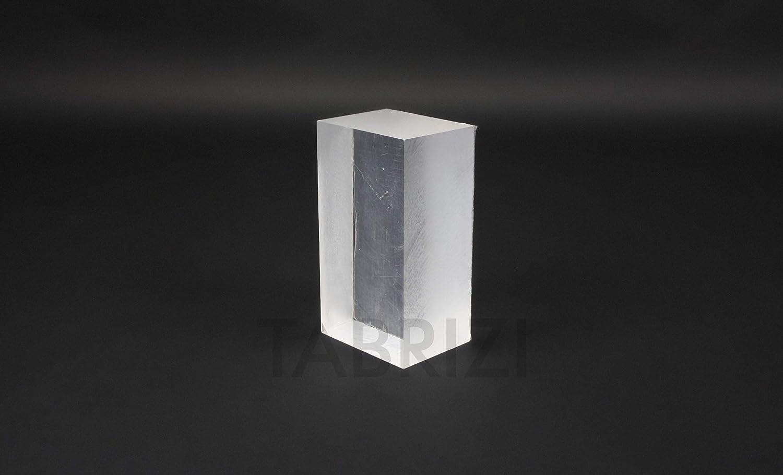 Plexiglas/® B/&T Metall Verre acrylique en PMMA XT Transparent /À la coupe de 4/mm d/épaisseur Rev/êtement r/ésistant aux UV des 2/c/ôt/és