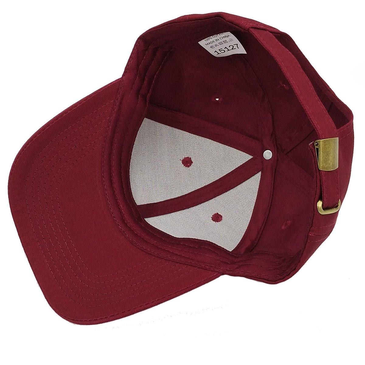 KeepSa Baumwolle Baseball Cap, Basecap Unisex Baseball Kappen, Baseball  Mützen für Draussen, Sport 863df36452