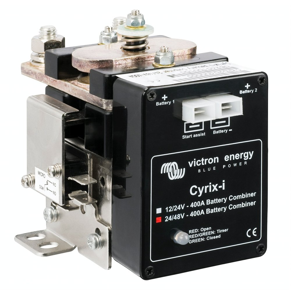 Coupleur de batteries intelligent | Cyrix-ct 12/24 V 120 A | Victron Energy | Contrô leur de batteries | surveillance de batteries CYR010120011