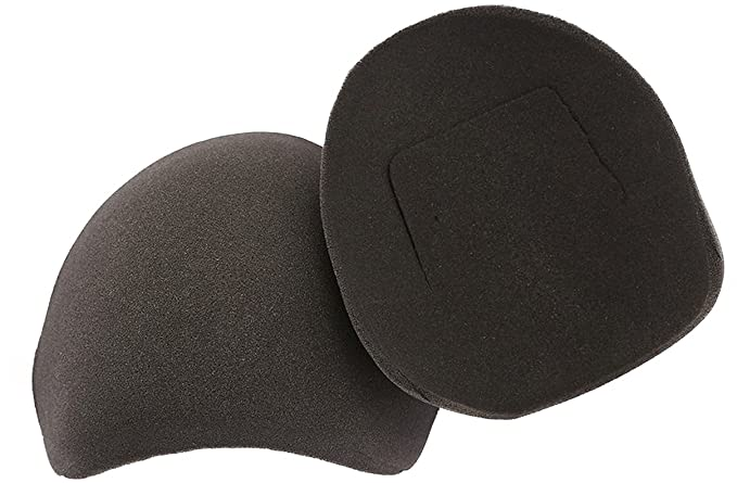7fe55bc4560c4 The Natural Charcoal Shoulder Pads w Flaps (Slimline) at Amazon ...