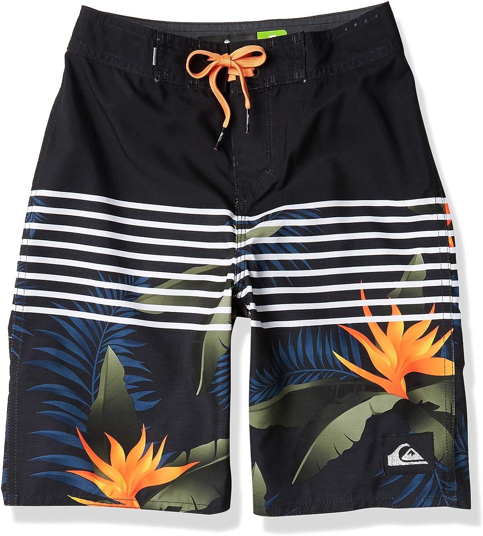 Quiksilver Boys Big Everyday Lightning Youth 18 Boardshort Swim Trunk