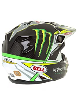 Bell Cascos MX 2017 Moto-9 Flex adultos casco, PRO circuito Monster Replica, tamaño XL: Amazon.es: Coche y moto