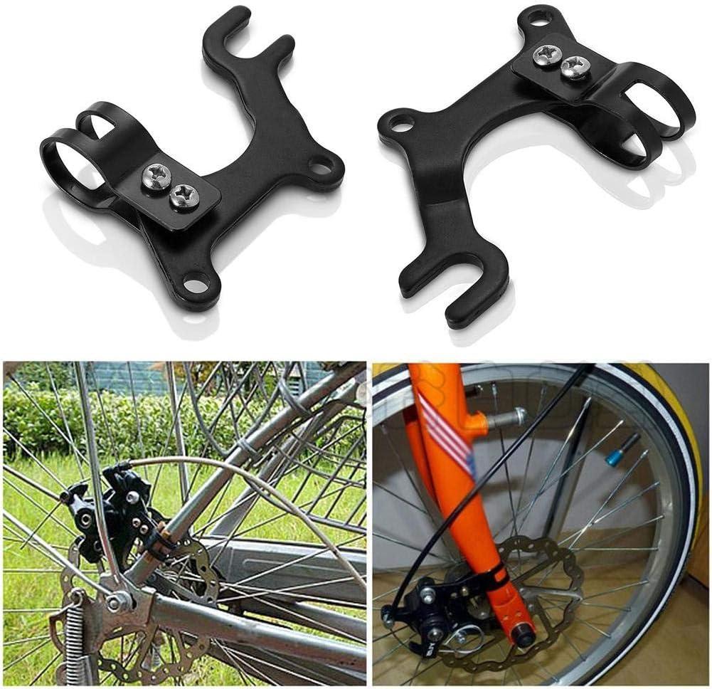 Supporto di montaggio adattatore per telaio con freno a disco bici regolabileSP